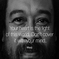 Your heart if the light of this world.
